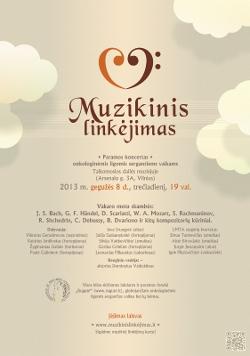 Muzikinis linkėjimas 2013. Plakatas
