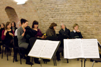 """2010 m. paramos koncerto """"Muzikinis"""" linkėjimas, vykusio Vilniuje, akimirka"""