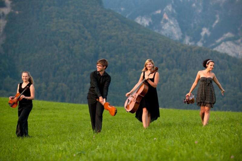 """Styginių kvartetas """"Toto"""". Foto: www.lukasbeck.com"""